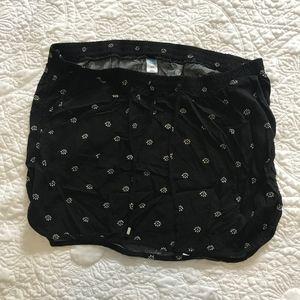 Old Navy maternity mini skirt